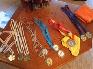 Medals won this season
